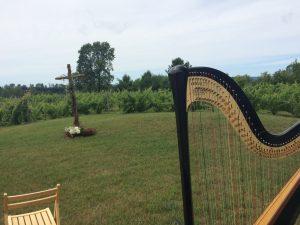 Traverse City Wedding Harpist