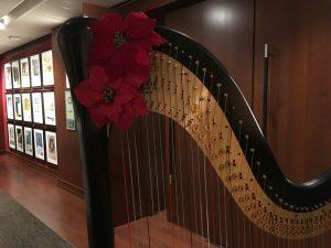 Harpist in Midland, Michigan