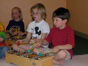 Music Class for Elementary Students