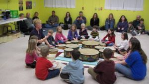 Drum Circle in Music Class