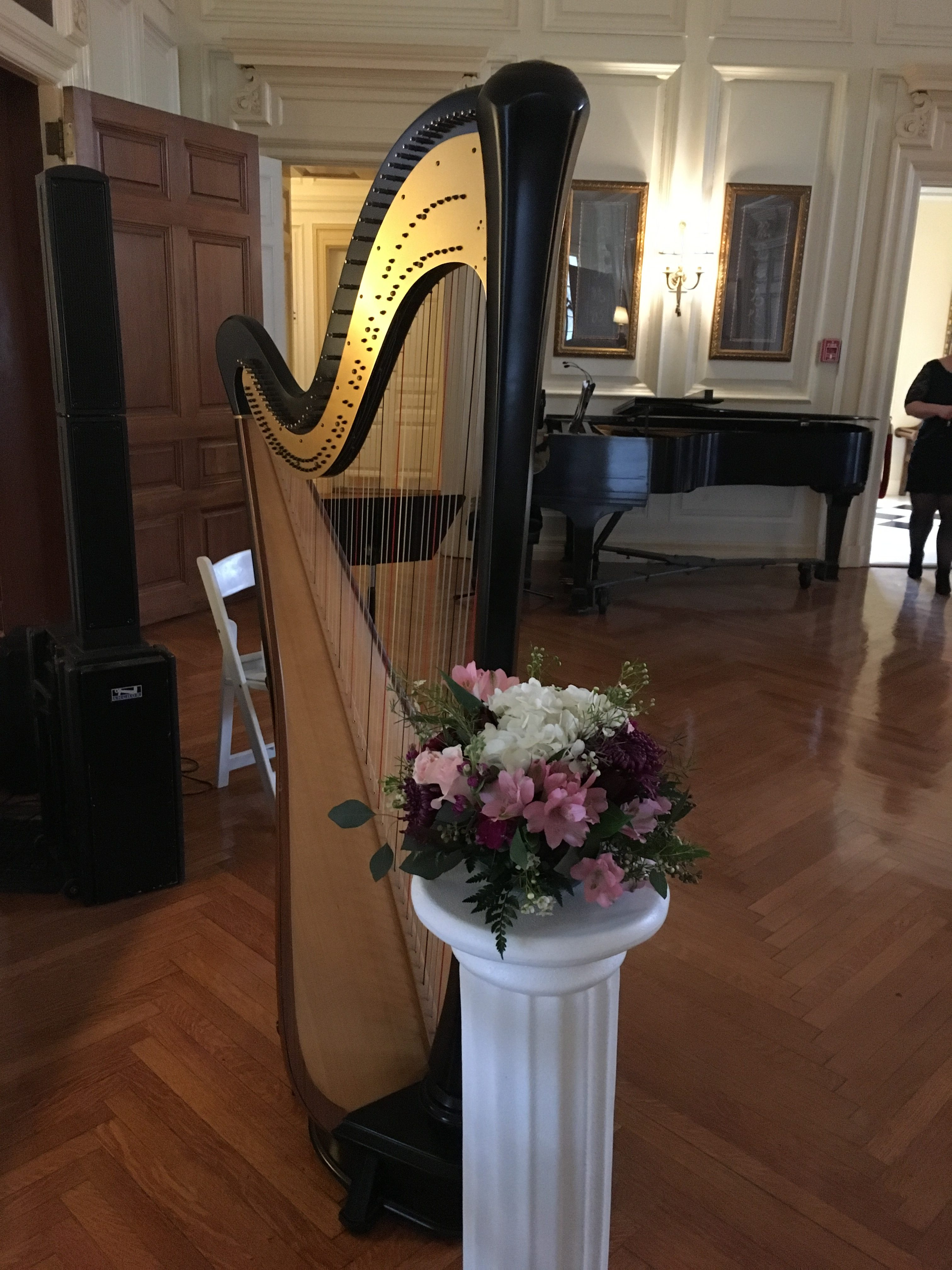 Central Illinois Harpist at Allerton Park