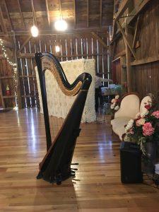 Barn Wedding Music - Harp