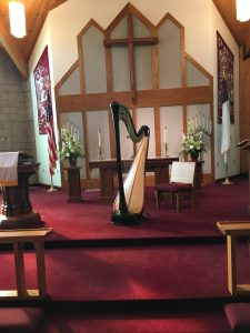Jacksonville Illinois Harpist