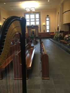 Chicago Catholic Harpist for Weddings