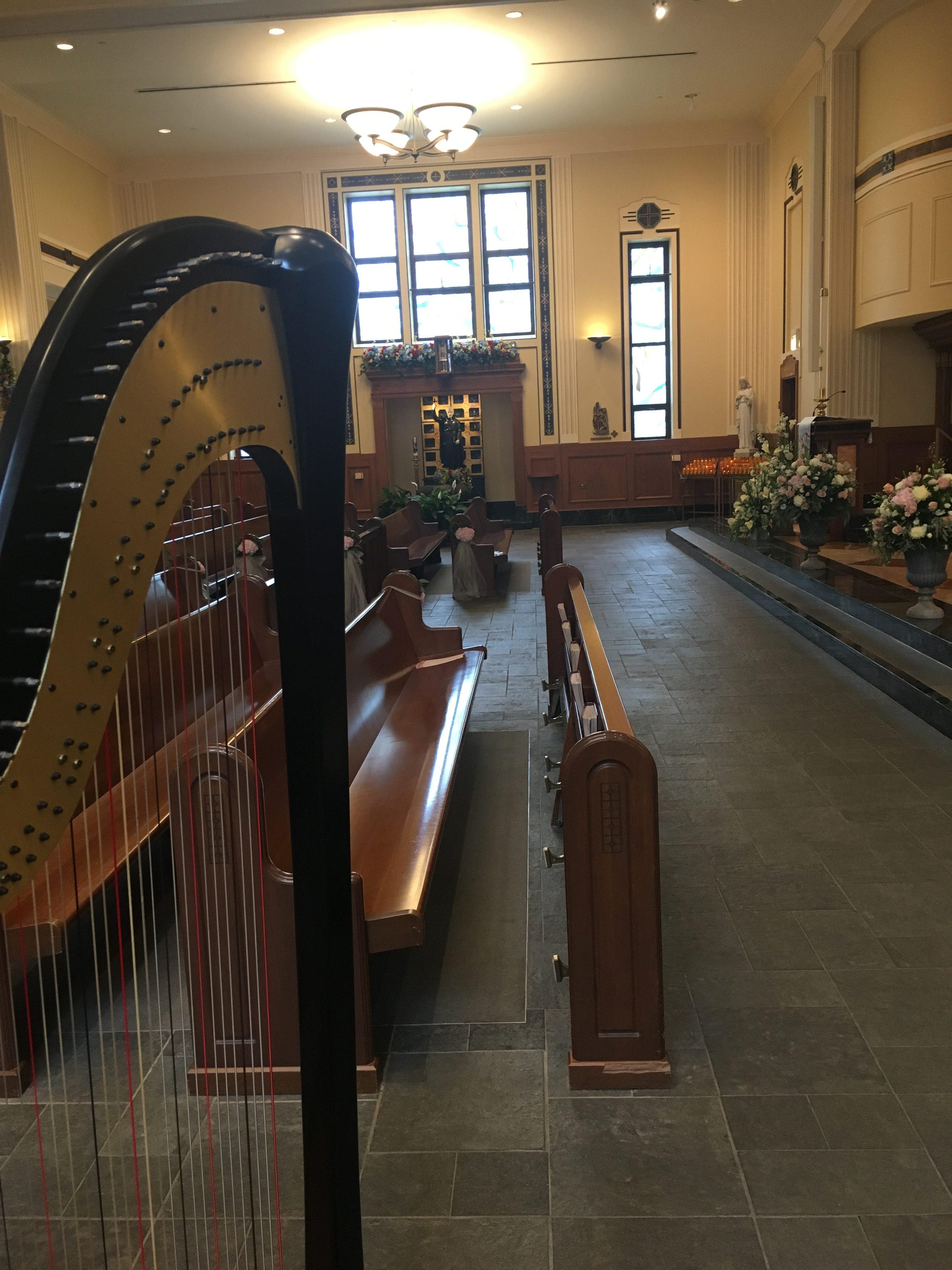 Chicago Catholic Harpist for Weddings