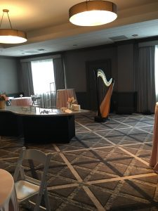 Oak Brook Hills Resort Wedding Harpist Chicago
