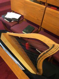 Back-up harp