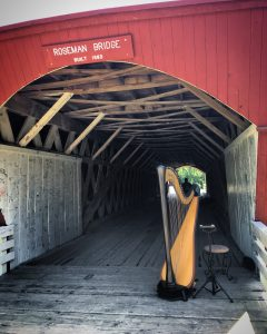 Covered Bridge Wedding Iowa