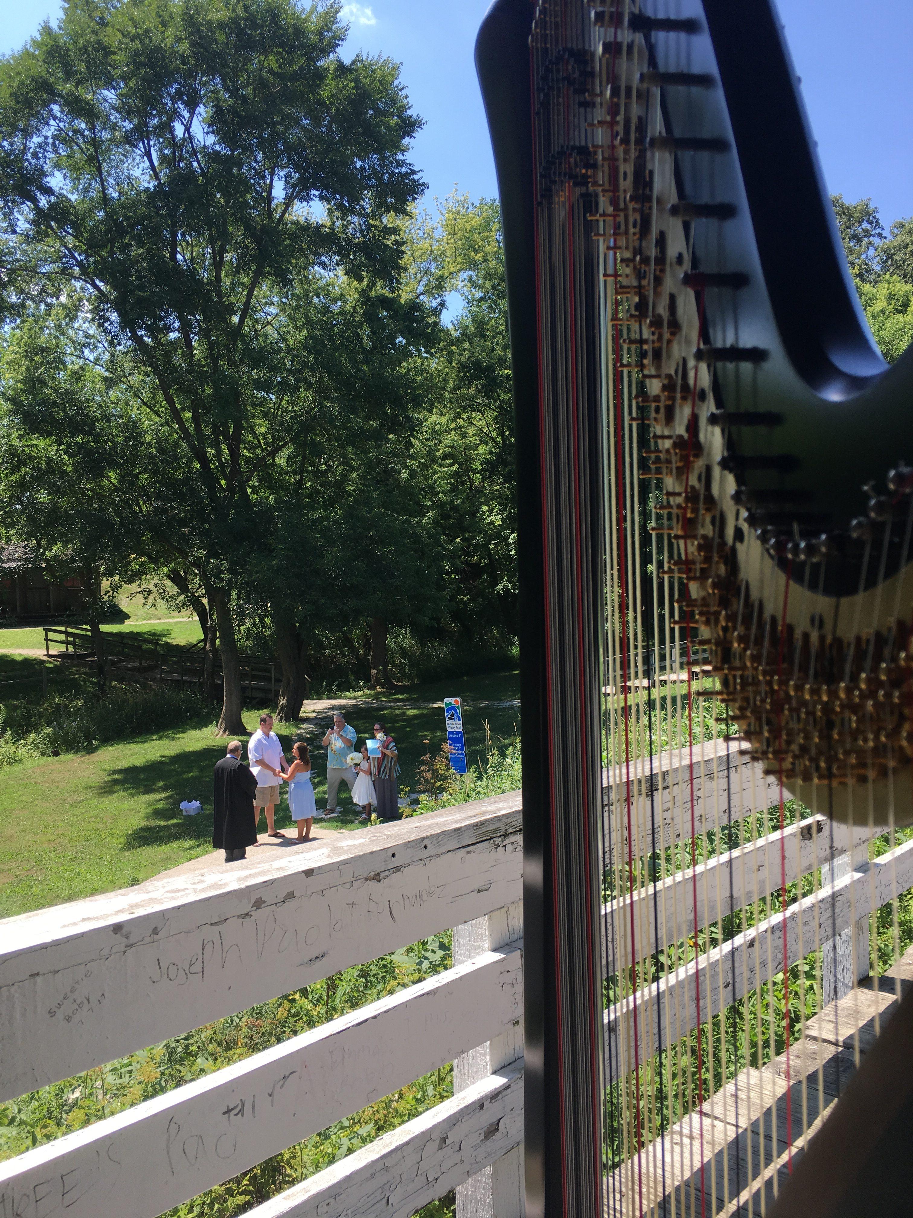 Harpist in Des Moines