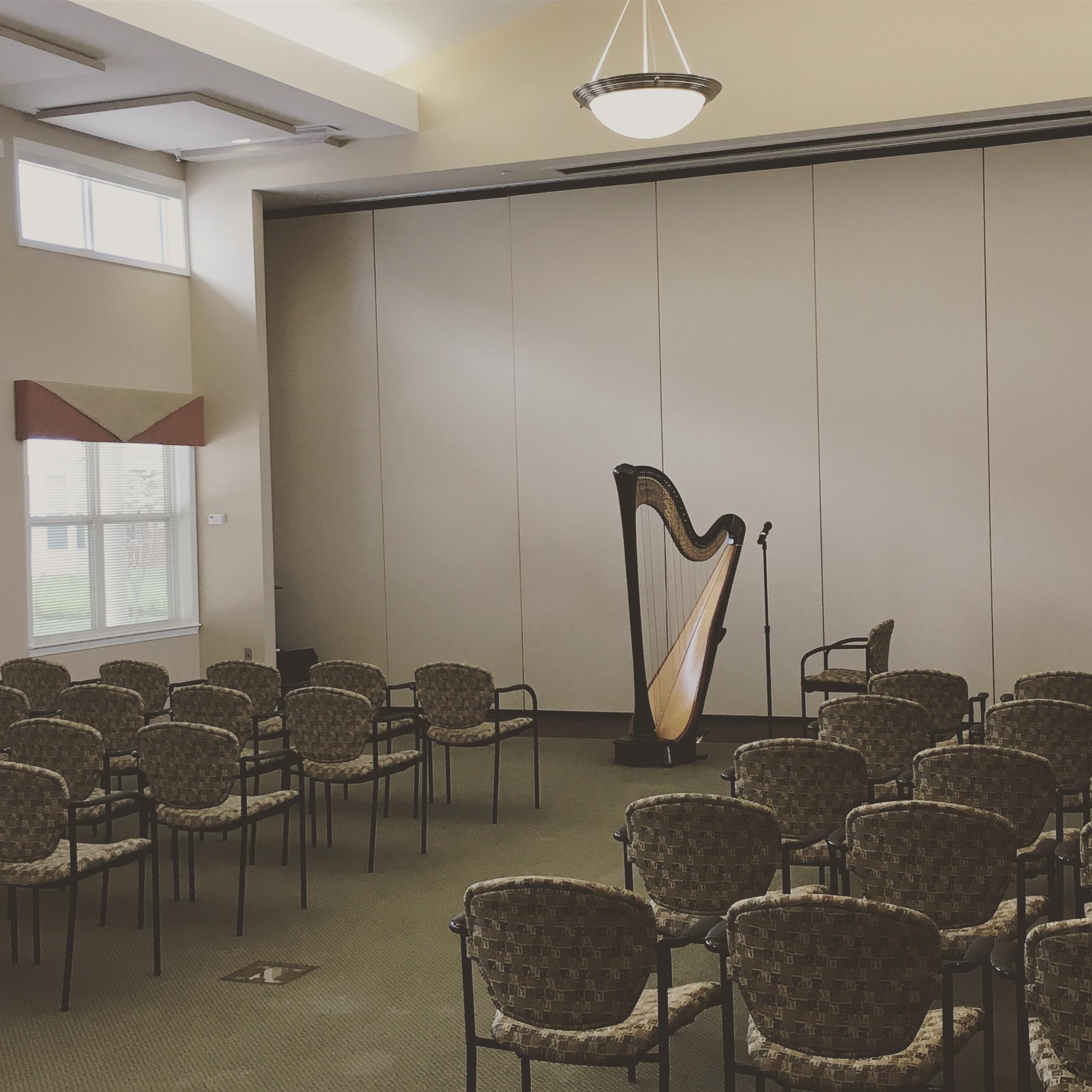 Springfield Illinois Harpist