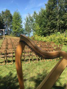 Munising Michigan Harpist