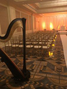 Pittsburgh Wedding Harpist