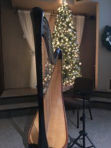 Christmas Eve Harp Music Illinois