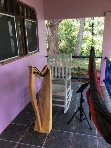 Boca Chica Panama Harpist
