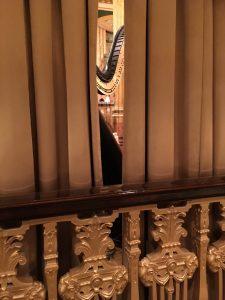 Harpist at The Peabody Memphis