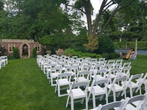 Hamstra's Garden Wedding