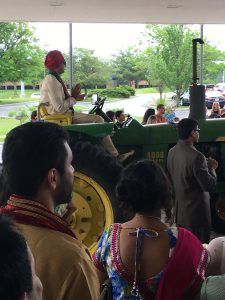 Baraat on a Tractor - Iowa Indian Wedding
