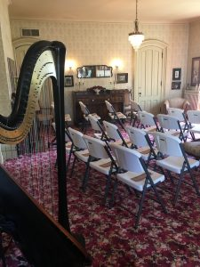 Cedar Falls Iowa Harpist