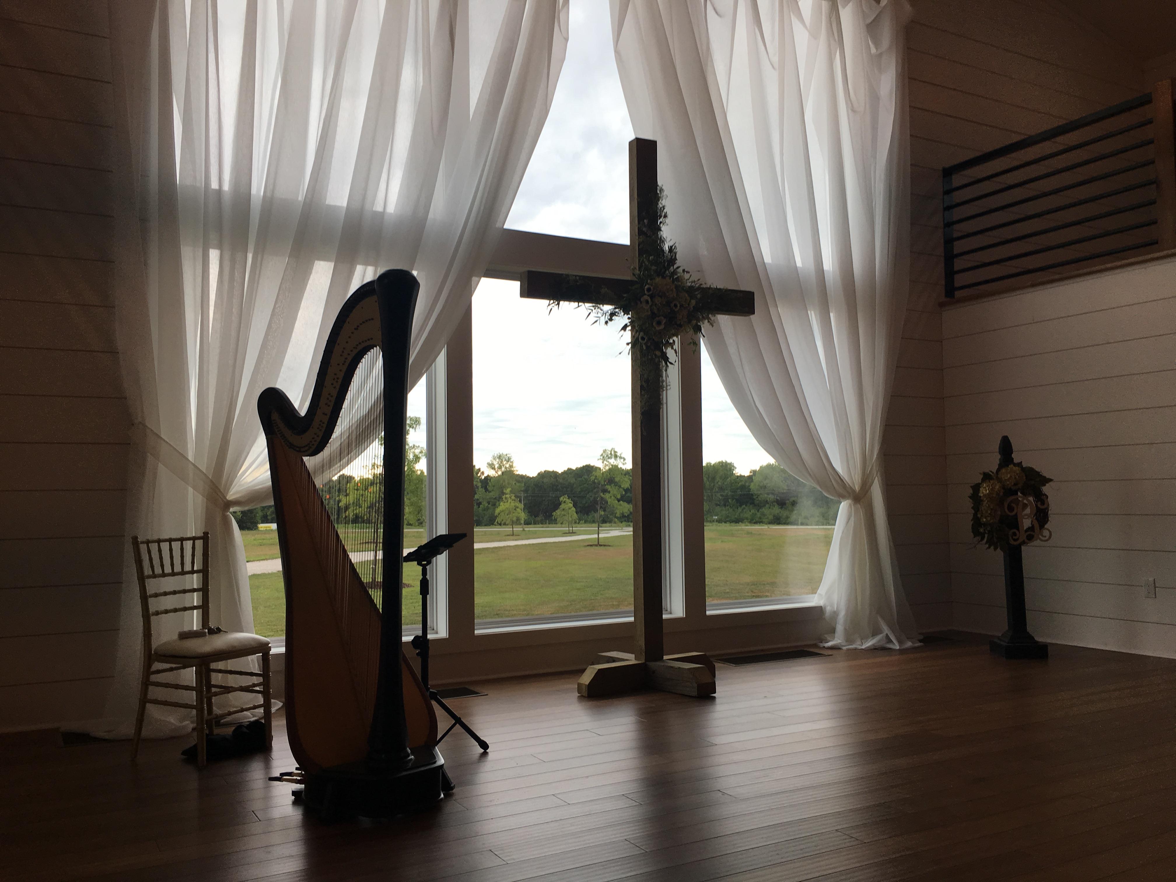 Macon Missouri Harpist