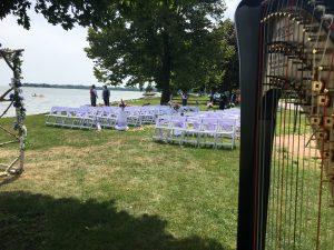 Appleton Wisconsin Wedding Harpist