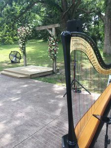 Iowa City Harpist for Weddings
