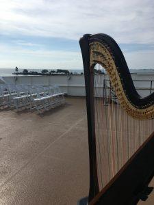 Harpist in Chicago