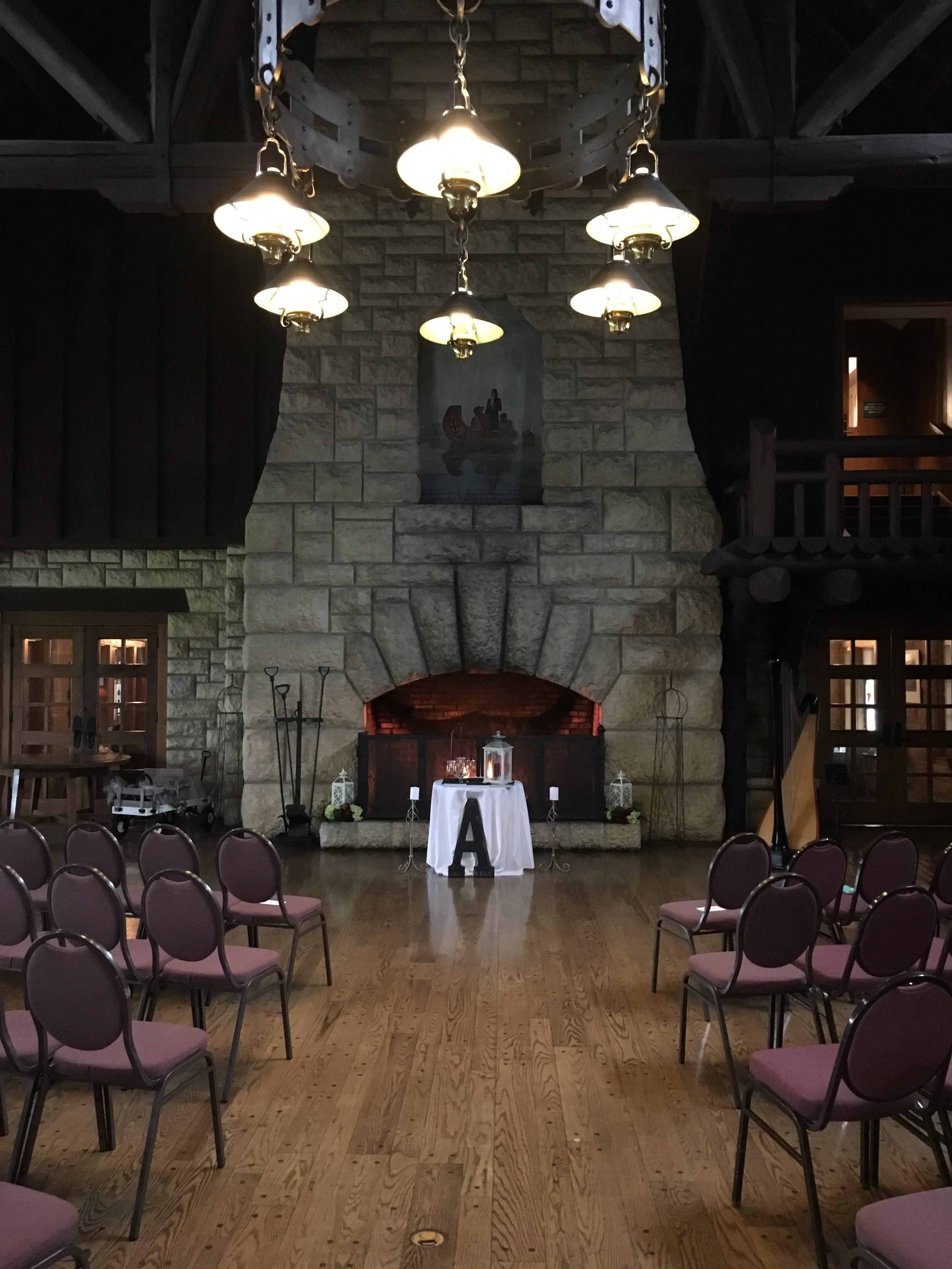 Wedding at Pere Marquette, Grafton Harpist
