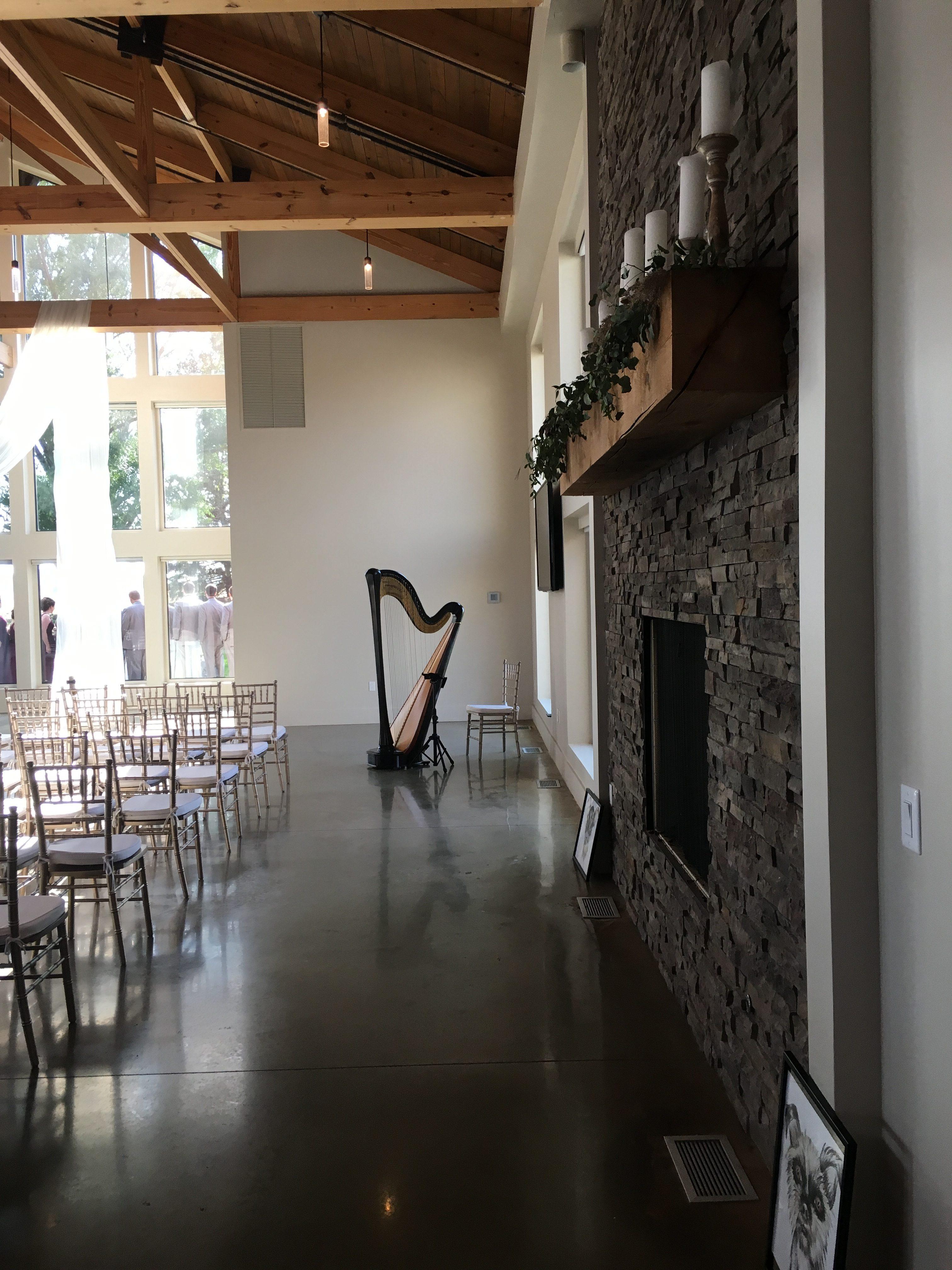 Champaign Wedding Harpist