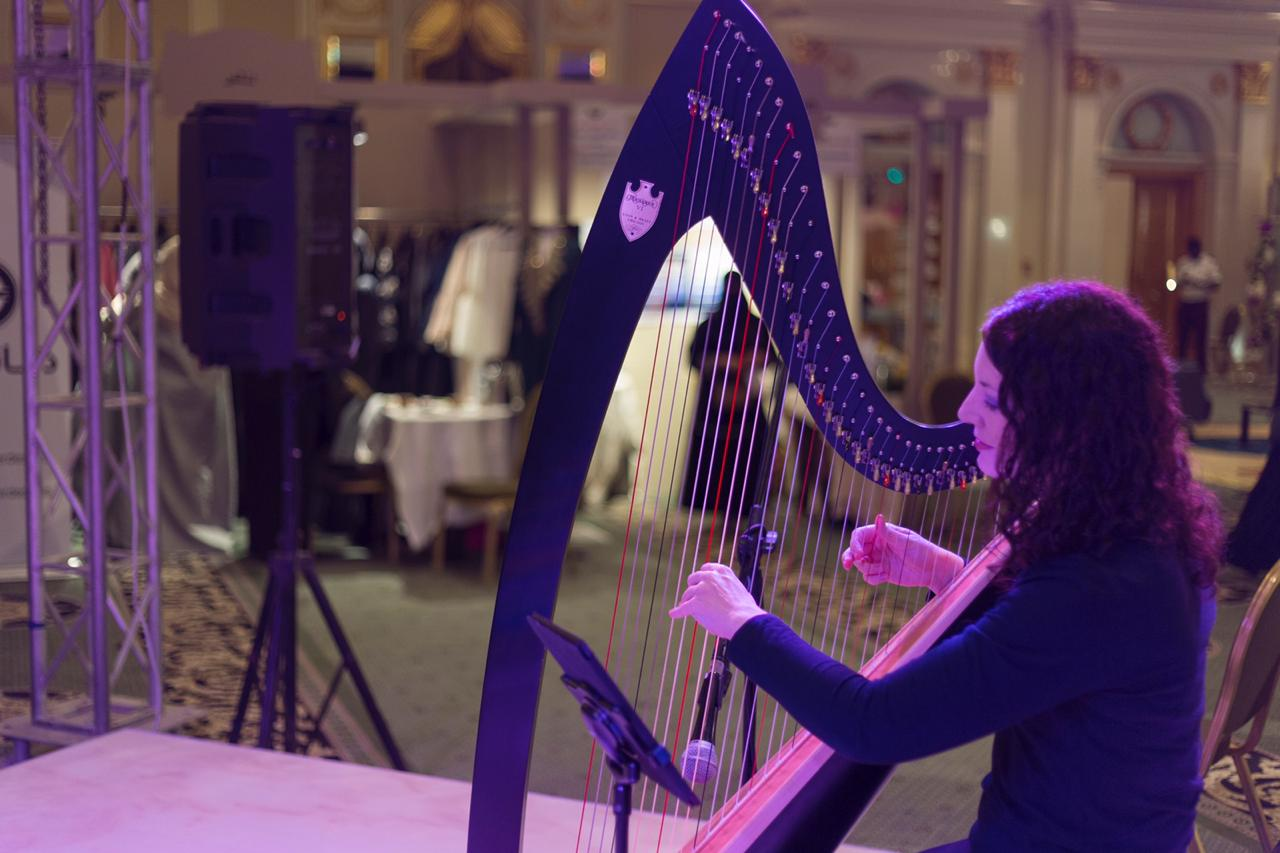 International Musician - Saudi Arabia Harp Player
