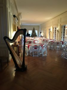 Christmas Party Music ~ Harpist