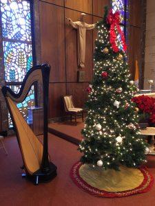 Chicago Harp Music for Christmas