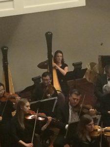 Illinois Orchestra Harpist