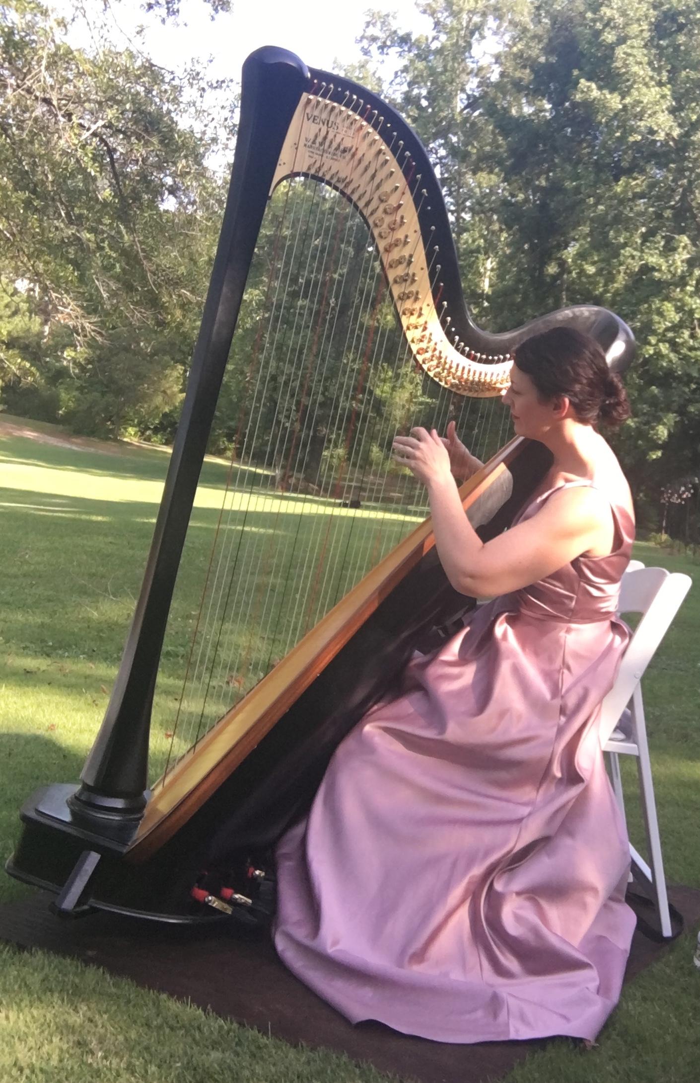 Birmingham Alabama Harpist