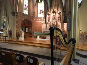 Dubuque Iowa Harpist