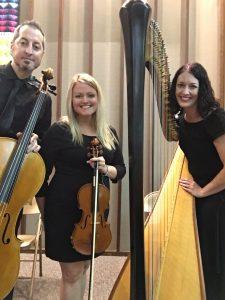 Harp Violin Cello Trio Wedding Music