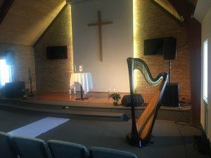 Rockford IL Harp Player