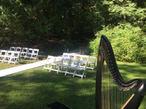 Mackinac Island Wedding Harpist