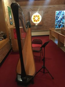 Toledo Harpist