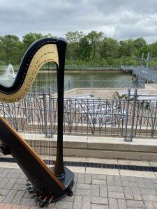 Iowa City Wedding Harpist