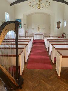 Harp Player Ste. Genevieve Wedding