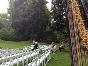 Midland Michigan Harpist For Weddings Wedding At Dow Gardens
